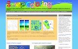 screenshot http://scrapcoloring.fr scrapcoloring - coloriage en ligne