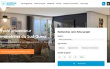 screenshot http://sporting-promotion.fr Promoteur immobilier à Toulouse