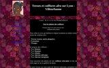 screenshot http://tresses.lyon.free.fr tresses et coiffures afro sur lyon