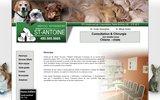screenshot http://veterinairestantoine.com hopital v�t�rinaire st-antoine, 393 boul, des laurentides, st-antoine, 450-565-5665, dr blaise