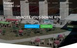 screenshot http://vivacite.info/ festival vivacité fait son cabaret!