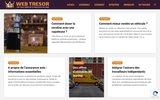 screenshot http://web-tresor.com/ la chasse au tresor