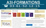 screenshot http://www.a3iformations.fr a3i formations
