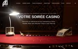 screenshot http://www.aacasino.fr aa casino - animation casino factice