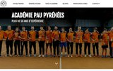 screenshot http://www.academiepaupyrenees.com Académie Pau Pyrénées