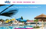 screenshot http://www.achat-vente-mobilhome.com Vente de mobilhome en charente maritime