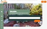 screenshot http://www.achat-vente-palmiers.com vente en ligne de plantes exotiques et tempérés
