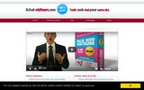 screenshot http://www.achat-visiteurs.com/ achat trafic internet
