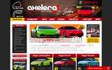 screenshot http://www.actua-stage-pilotage.fr/ actua gt driving : stages de pilotage automobile
