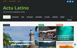 screenshot http://www.actulatino.com/ actu latino