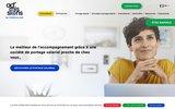 screenshot http://www.admissions.fr/ portage salarial : ad'missions société de portage