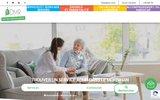screenshot http://www.admr56.com service aux personnes à domicile dans le morbihan
