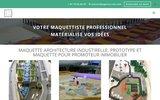 screenshot http://www.agence-cub.com Fabrication de maquettes