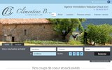 screenshot http://www.agence-immobilier-lorgues.com/ agence immobiliere lorgues var 83 provence paca