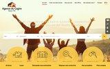 screenshot http://www.agenceducagire.com agences immobilières du cagire
