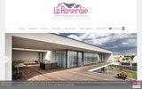 screenshot http://www.agencelaroseraie.com agence immobilière mulhouse - agence la roseraie