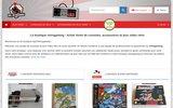screenshot http://www.agil-retrogaming.fr Vente de jeux vidéo, consoles et accessoires rétro