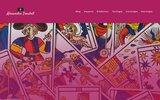 screenshot http://www.alexandre-troubat.com tarologie avec le tarot de marseille