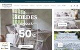 screenshot http://www.alexandre-turpault.com/ linge de maison alexandre turpault