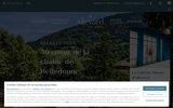 screenshot http://www.allevard-les-bains.com allevard-les-bains