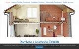 screenshot http://www.allo-plombier-courbevoie92.fr/ plombier à Courbevoie