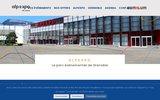screenshot http://www.alpexpo.com parc des expositions - alpexpo grenoble