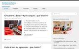 screenshot http://www.ambiance-chaleur.com/ poêles, foyers et accessoires à gembloux