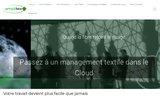 screenshot http://www.amplitex.fr/ logiciel de gestion d'entreprise textile en saas