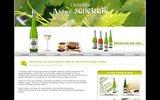 screenshot http://www.andre-scherer.com andré scherer, viticulteur en alsace