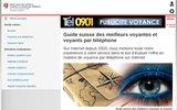 screenshot http://www.annuaire-voyance.ch le portail des voyants en suisse