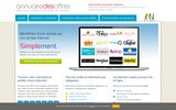screenshot http://www.annuairedesoffres.com annuaire des offres