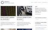 screenshot http://www.annunord.fr annuaire artistes et artisans d'art
