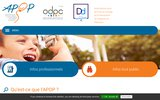 screenshot http://www.apop-france.com/ association pour la prise en charge et la prévention de l'obésité en pédiatrie - apop