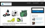 screenshot http://www.appareil-equipement-eau.fr traiment de l'eau aquitaine , landes