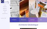 screenshot http://www.architecture-geobiologie.com agba - atelier de géo-bio architecture