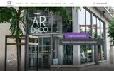 screenshot http://www.ardecotapissier.com ar'déco