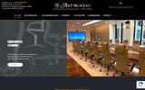 screenshot http://www.artbureau.fr mobilier de bureau sièges et accessoires