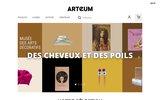 screenshot http://www.arteum.com/ décoration design