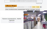 screenshot http://www.artistyle.fr tapissier décorateur