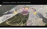screenshot http://www.artnoz.fr arnaud michel : directeur artistique, graphiste, web-designer et illustrateur free-lance