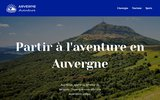 screenshot http://www.arverne-aventure.fr arverne-aventure, la randonnée 100  plaisir