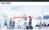 screenshot http://www.asc-teletravail.com ASC Secrétariat et Communication