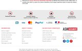 screenshot http://www.ask-securite.com ask-securite  : coffres et matériel de protection