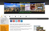 screenshot http://www.asso-soamp.fr Annuaire des activités Fuméloises