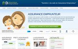 screenshot http://www.assuranceemprunteur.com comparateur assurance emprunteur