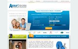 screenshot http://www.assurdeces.fr/ Assurance décès et invalidité