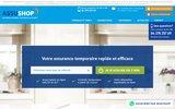screenshot http://www.assushop.com Votre assurance temporaire sur mesure en quelques clics et au meilleur prix