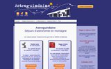 screenshot http://www.astroguindaine.com Observatoire Astronomique Amateur