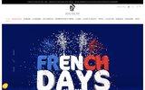 screenshot http://www.atelier159.com atelier159 design et mobilier industriel