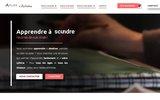 screenshot http://www.atelierdartistes.fr atelier de peinture a paris